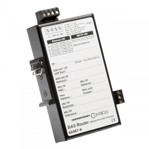 Veris Industries U013-0013 BACnet Router 5 BBMD; adpats BACnet MS/TP to BACnet IP