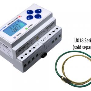 Veris E51H2A Bi-Dir.DIN Meter, Rope, BACnet MS/TP, Pulse In & Alarm