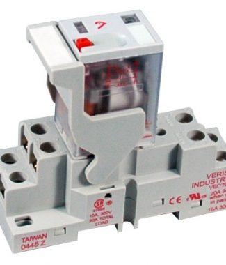 Veris FKIT-VMD2B-F240A DPDT -F w/- F Socket,240VAC