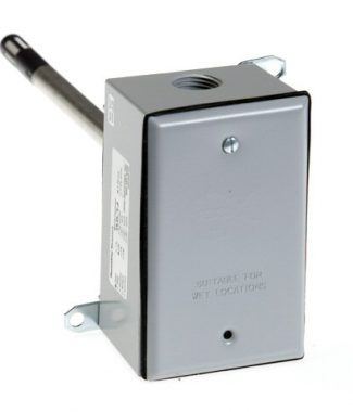 Veris Industries HD2XVSTQ RH Duct,2%,5/10VDC,Temp,1uA/C,Linitemp