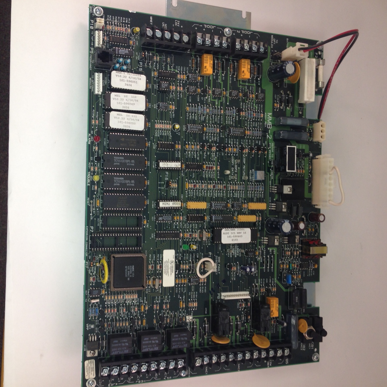 Siemens MXL MXLV MMB-2 Processor CPU main board