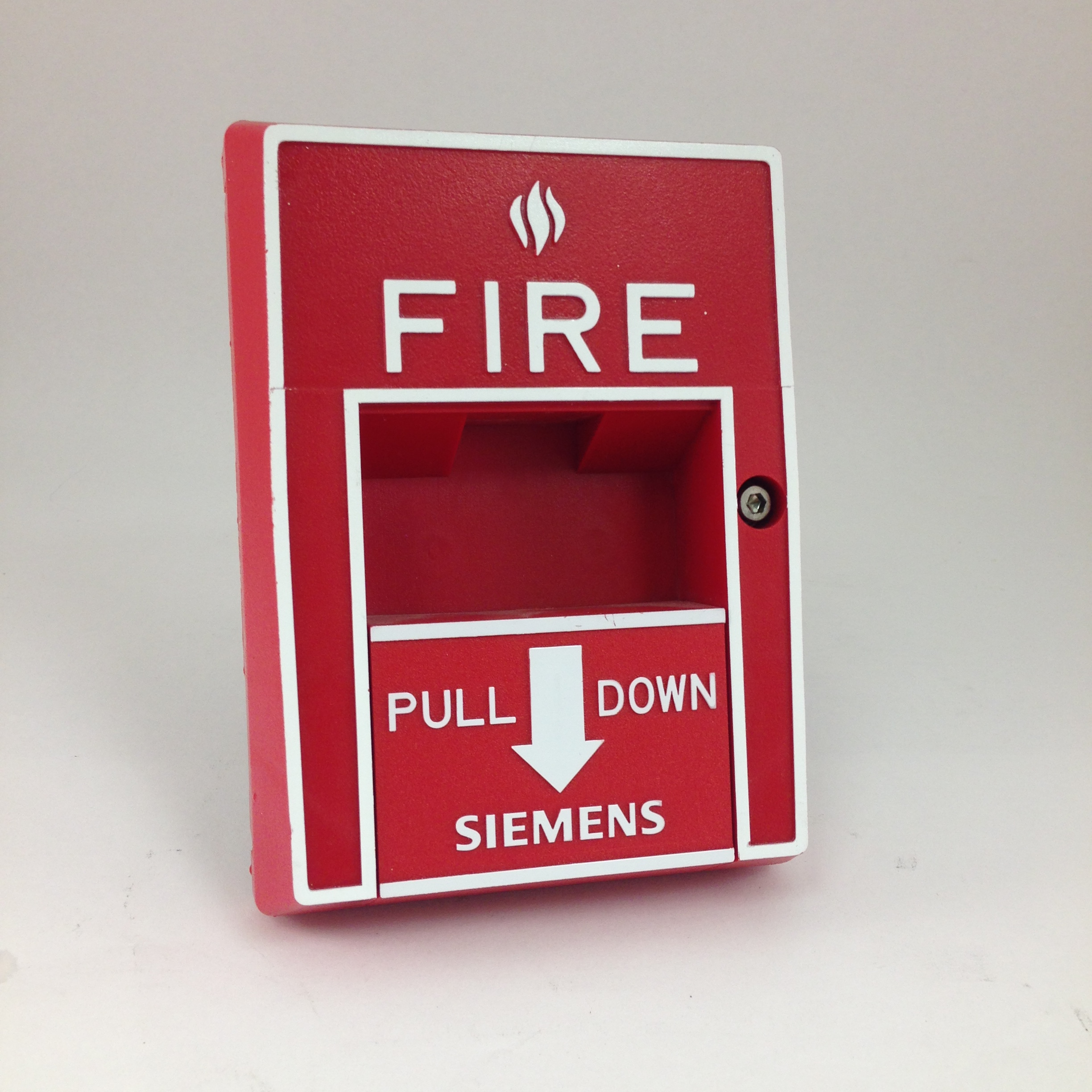 Siemens MSI-10B/-20B Manual Addressable Fire Alarm Pull Station