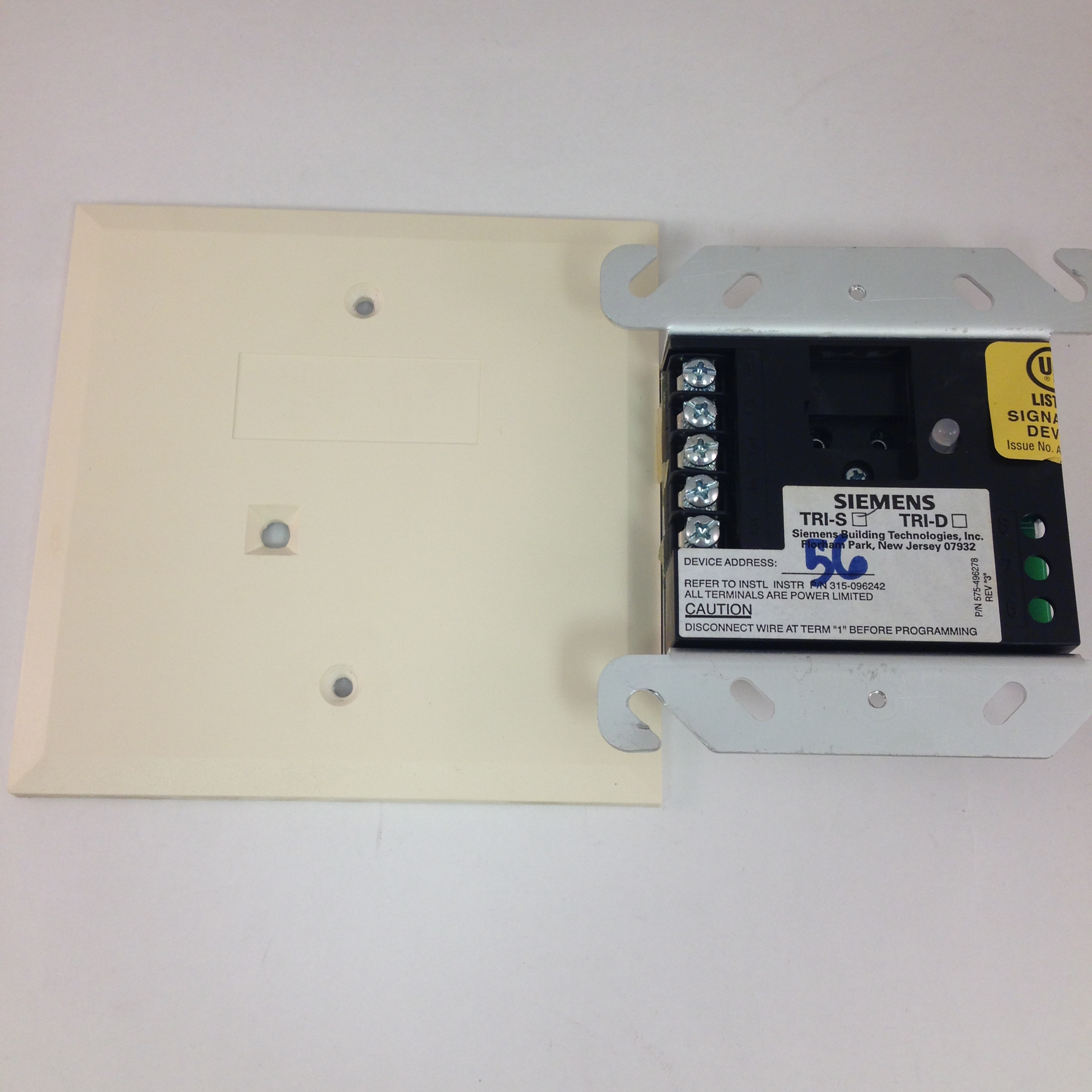 Siemens TRI-S Monitoring Module for MXL/MXLV Addressable Fire