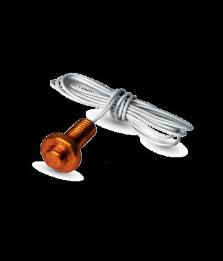 ACI A/1.8K-BBS Brass Button Sensor