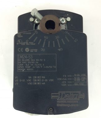 Delta DM24-53, Valve and Damper Actuator, Delta Control Products