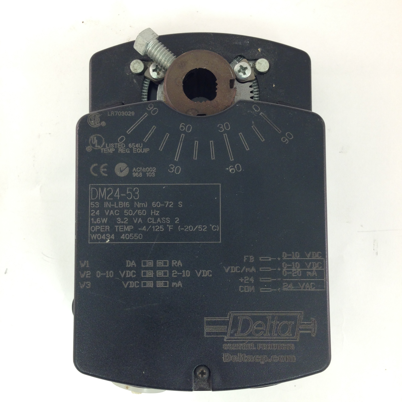 Delta DM24-53, Valve and Damper Actuator, Delta Control Products