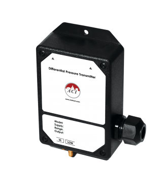 ACI A/LP2-500-10 Differential Pressure Transmitter (Uni-Directional) with LCD Option