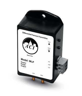 ACI A/MLP-2500B-10 Mini Differential Pressure Transmitter for Tight Installation