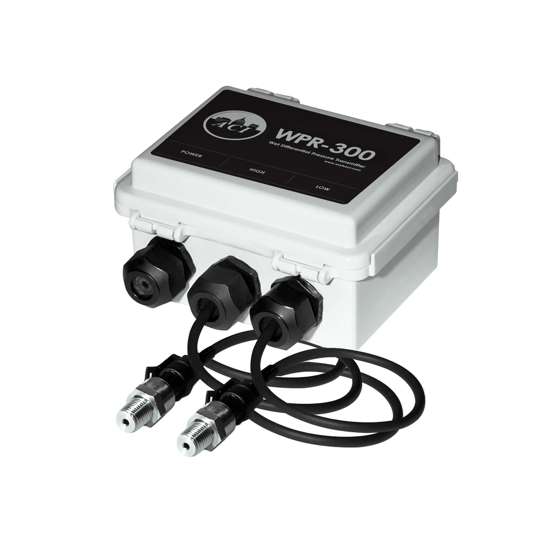 ACI A/WPR2-300-20' Pressure Sensor Wet to Wet