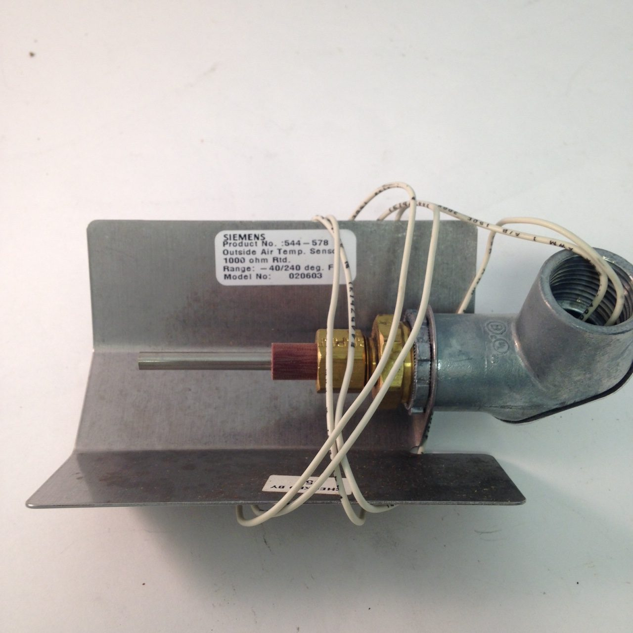 Siemens 544-578 Outside Air temp sensor