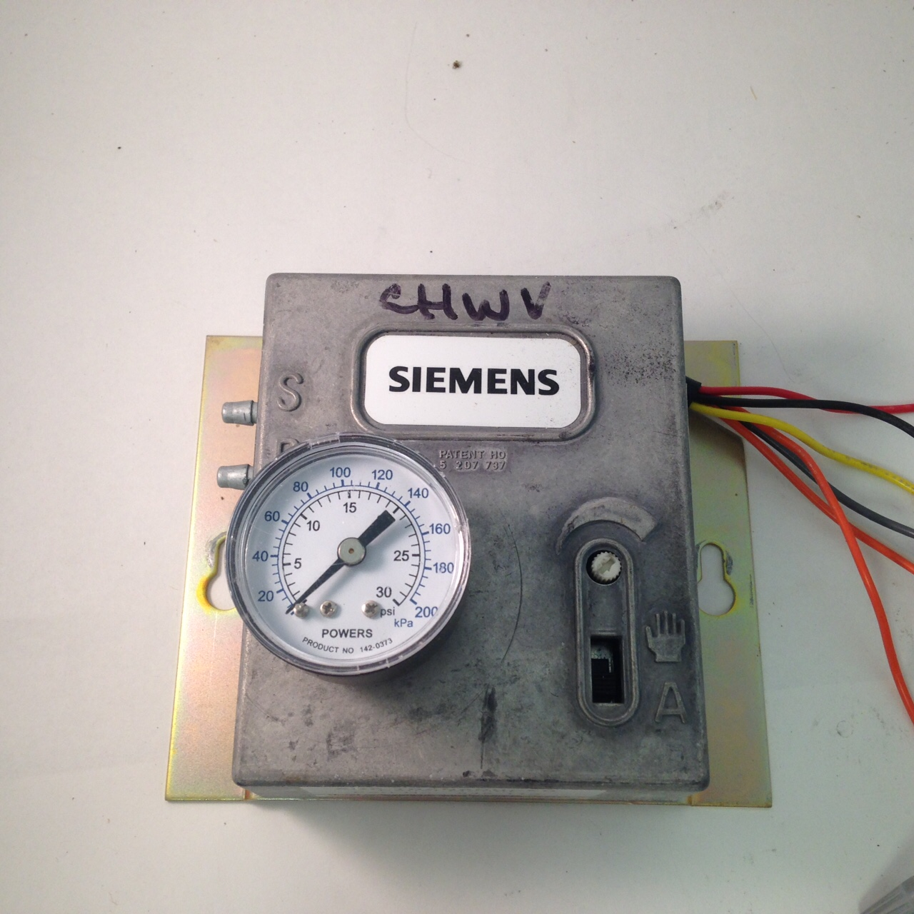 Siemens 545-113 AOP Transducer, Panel mount