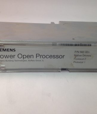 Siemens 562-001, Used, Removed from working job