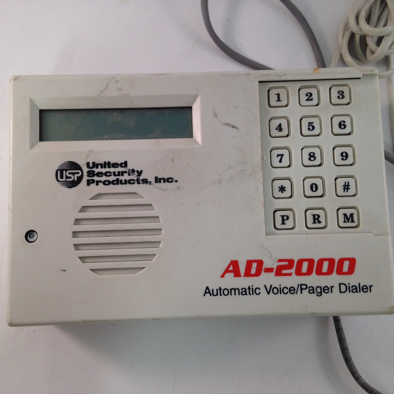 United Security Products AD-2000 Automatic Voice/Pager Dialer