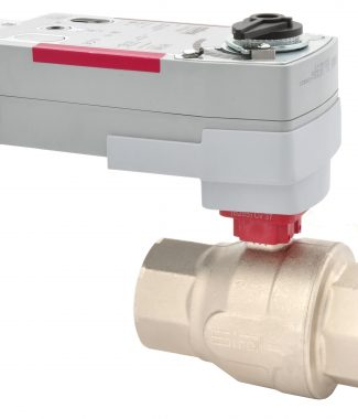 "Siral B282+V-FFV24M Ball Valve, S.S., 2-way, 2"", Fail Safe, 24V, Modulating"