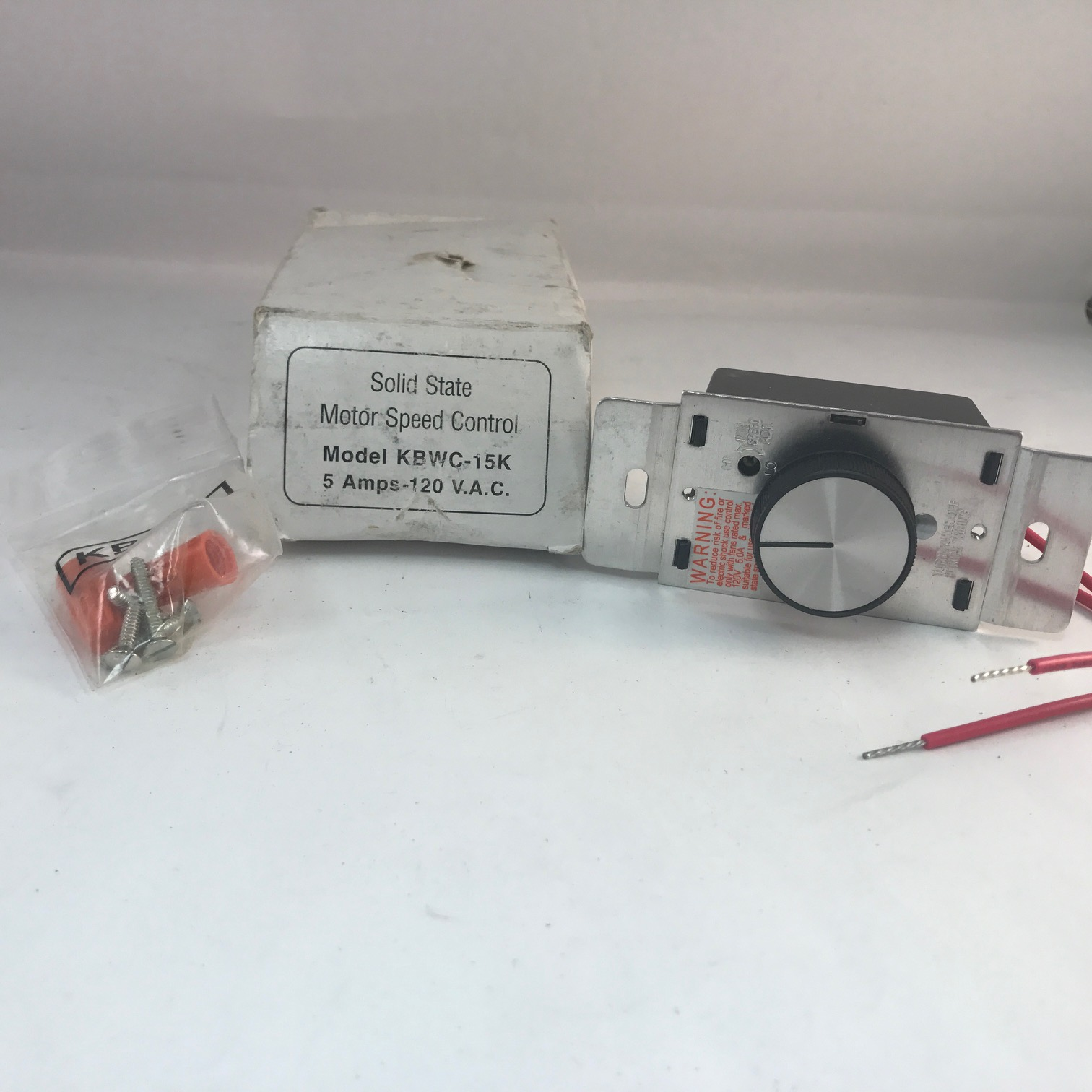 Solid State KBWC-15K Motor Speed Control