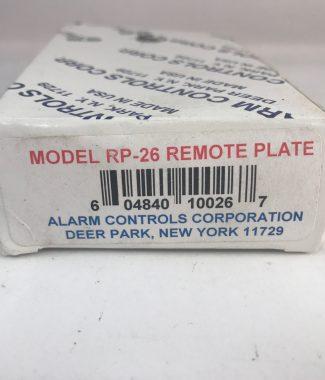 Alarm Control RP-26