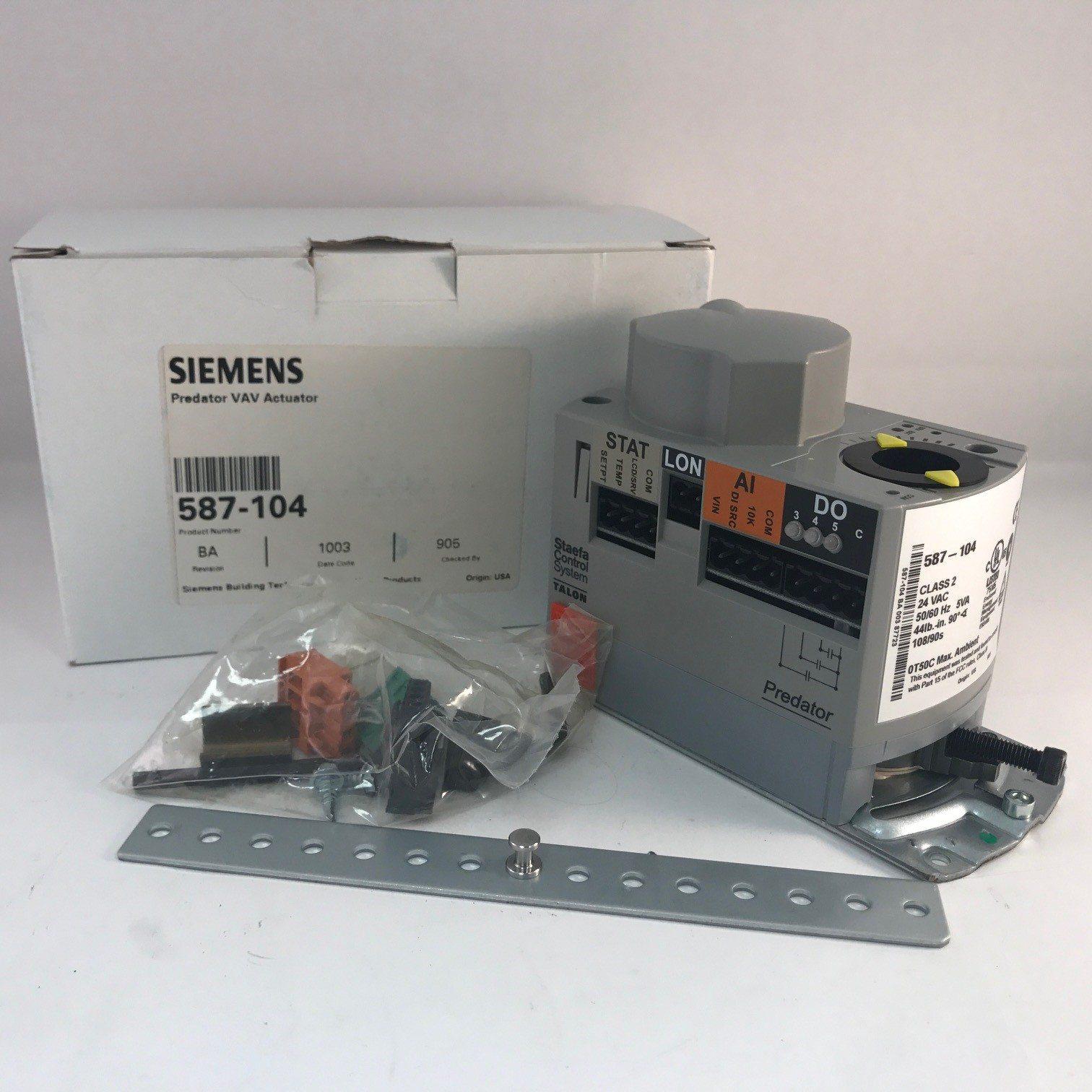 Siemens 587-104 Predator VAV Actuator
