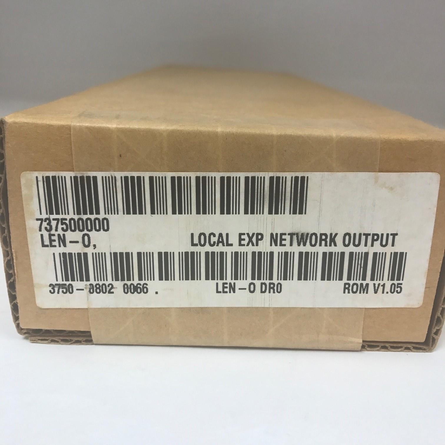 Novar 737500000 Local Exp Network Output