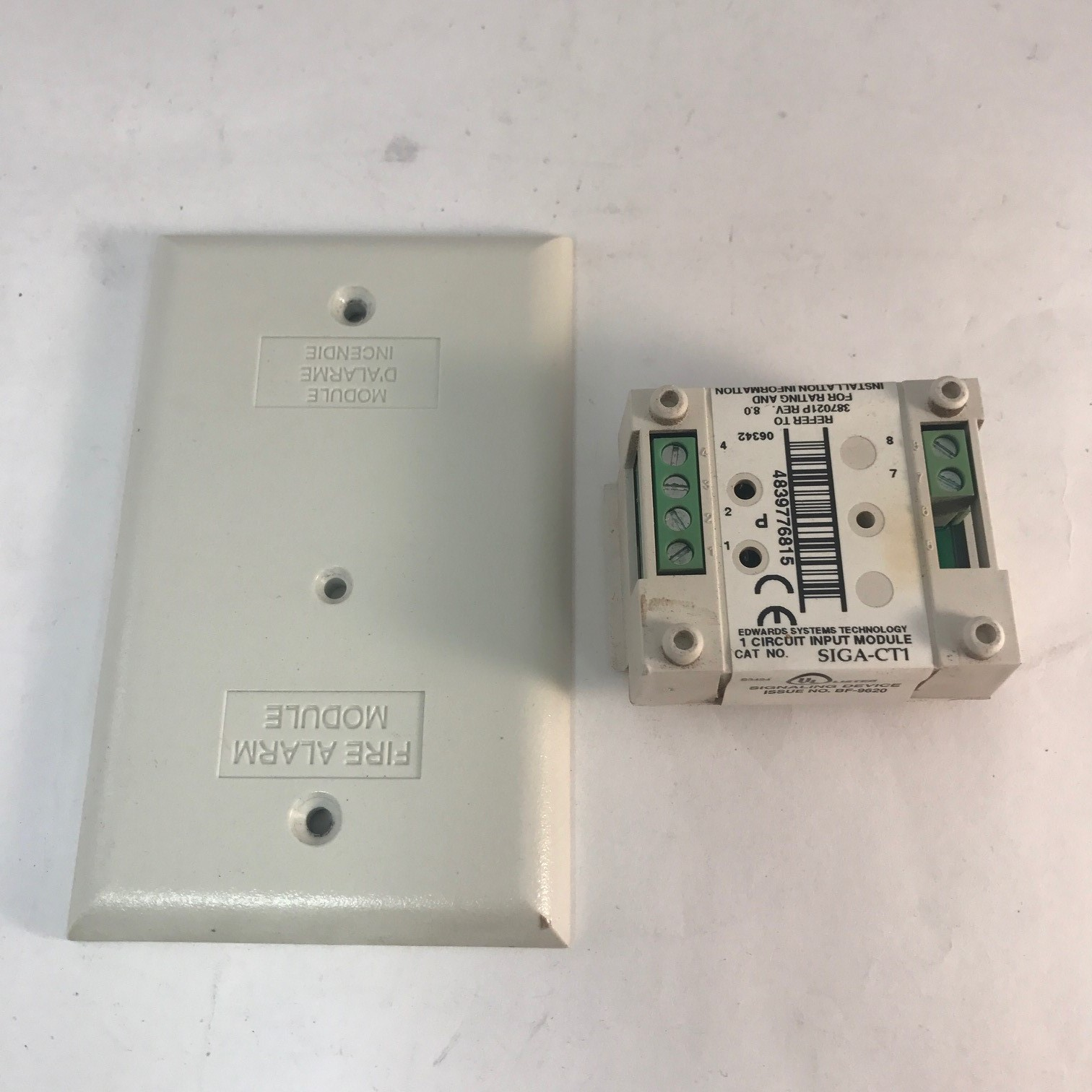 Edwards (EST) SIGA-CT1 Single Input Module