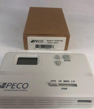 Peco Fan Coil Thermostat