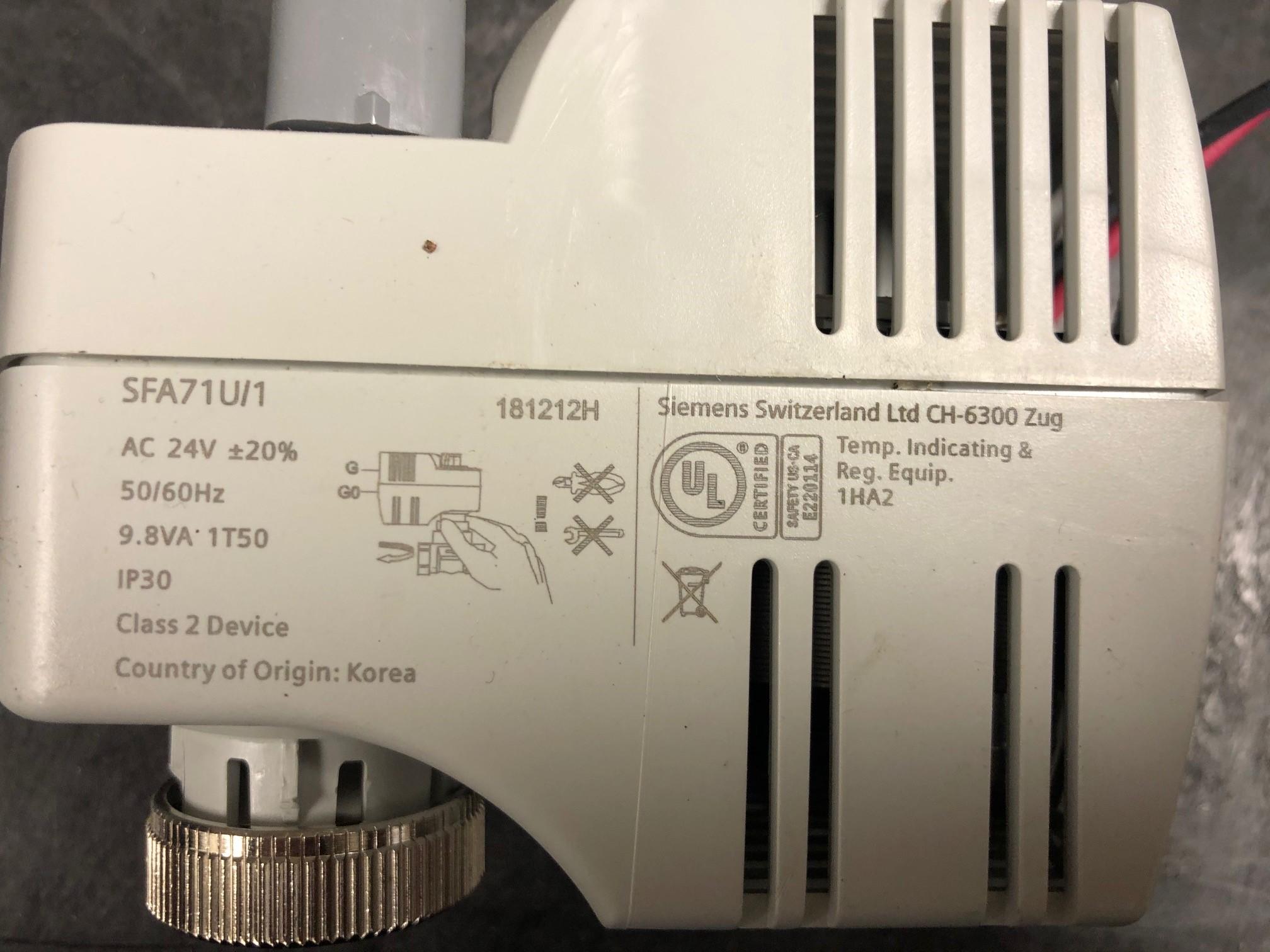 Siemens SFA71u/1