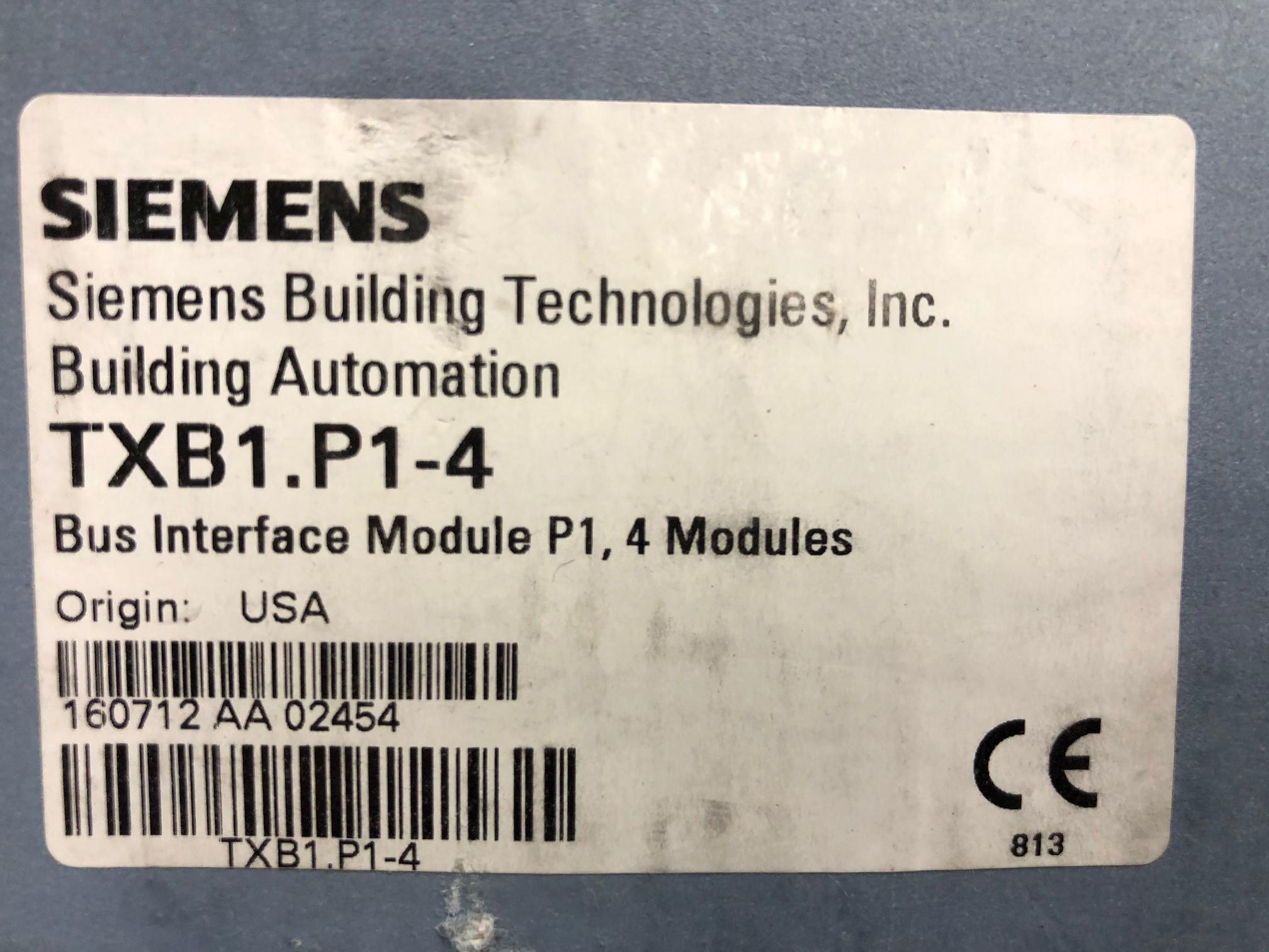 Siemens TXB1.P1-4